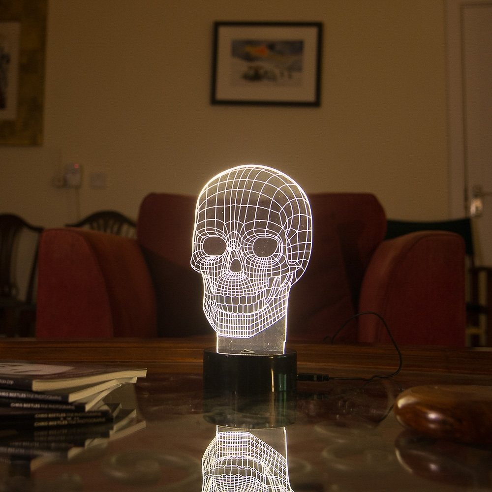 3d skull lamp funtime gifts 3d skull lamp aloadofball Image collections