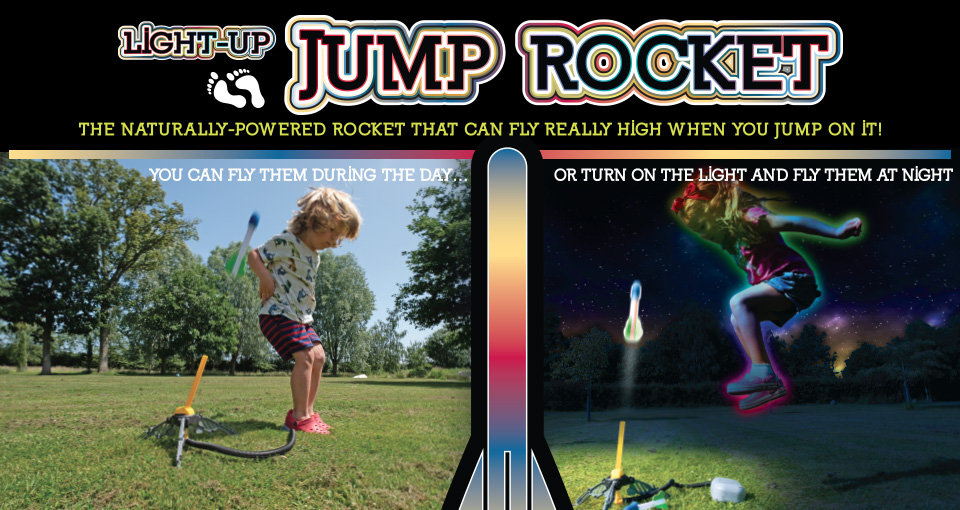 PL1500 Light-up Jump Rocket