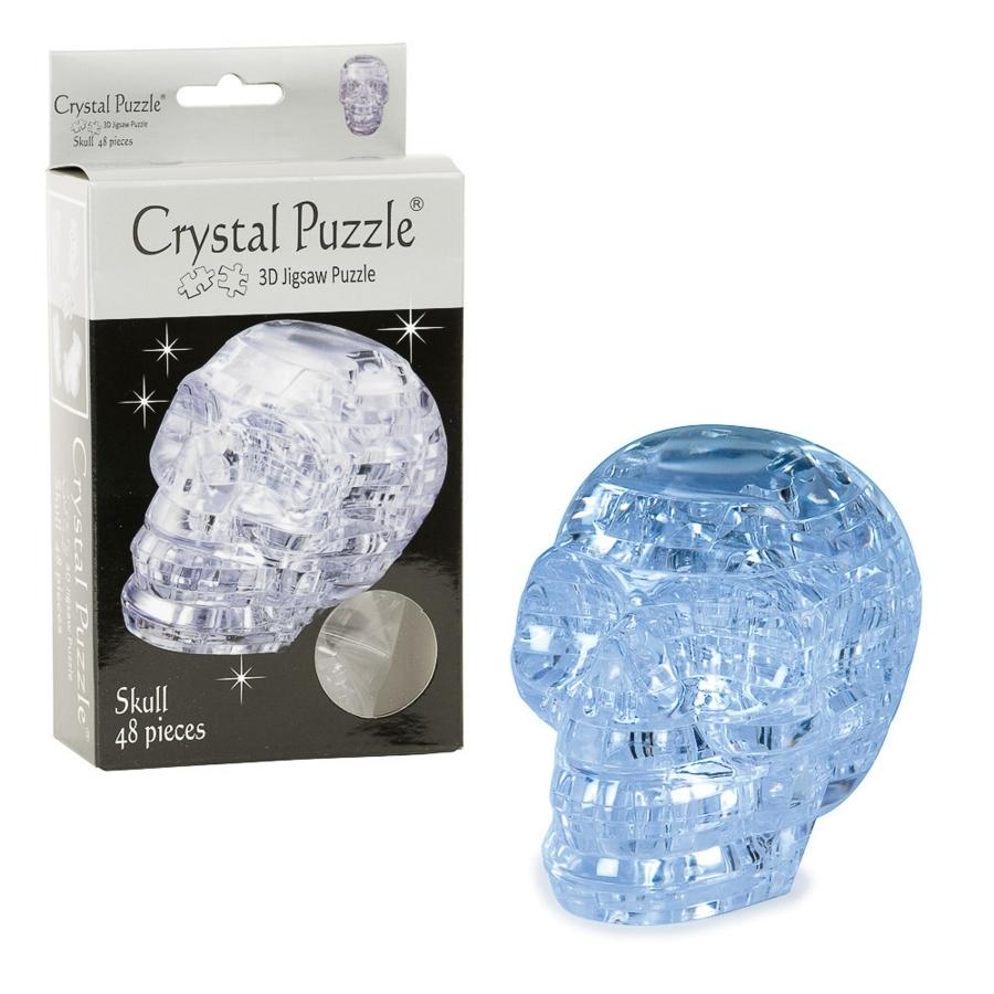 Crystal Puzzles - Skull