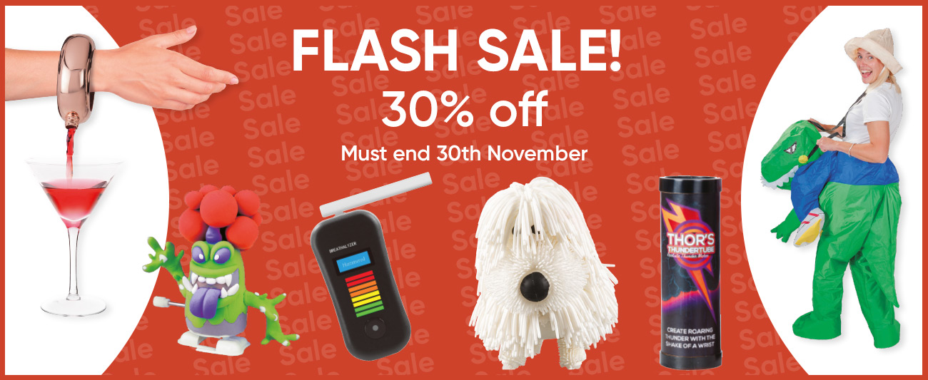 Flash Sale - 30% off - must end 30th November 2021